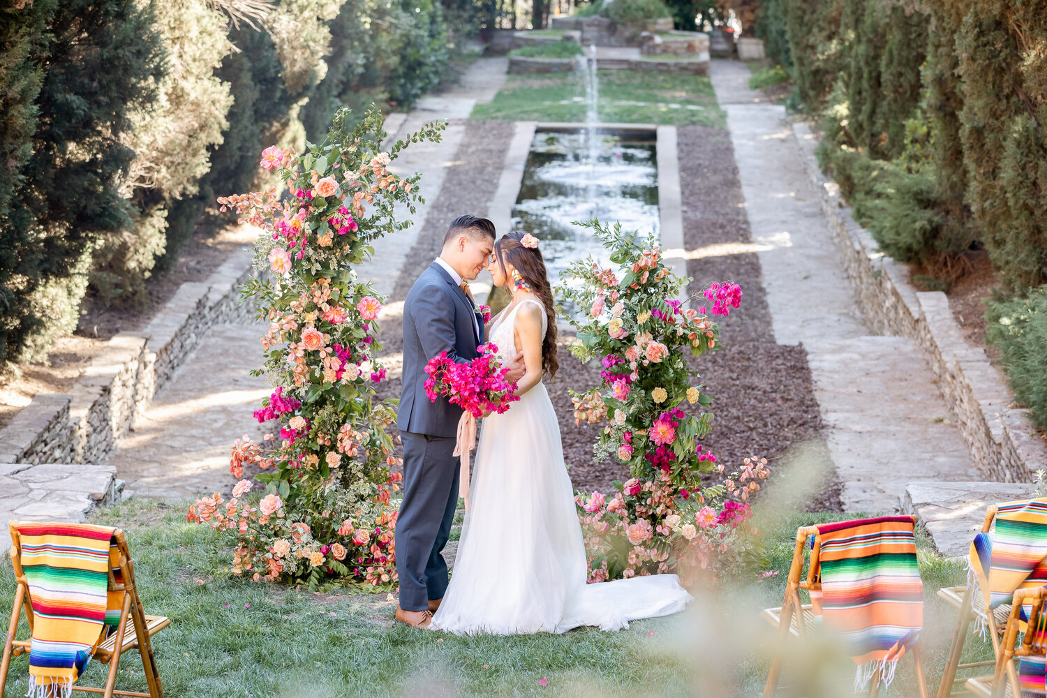 h & l lovely creations bespoke weddings southern california colourful 00010