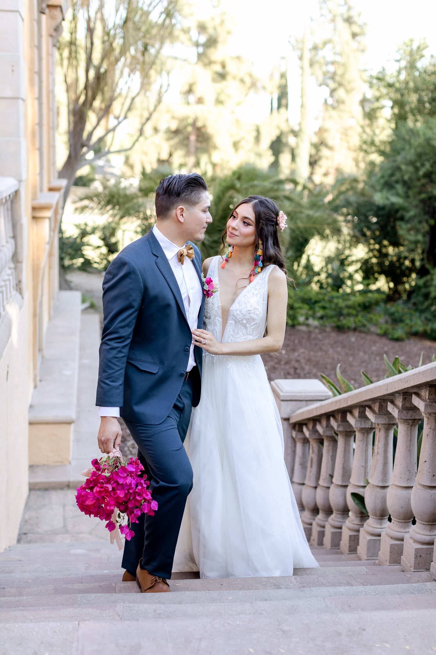 h & l lovely creations bespoke weddings southern california colourful 00015