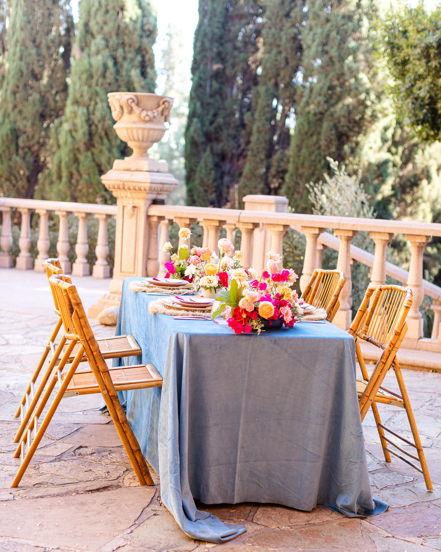 h & l lovely creations bespoke weddings southern california colourful 00017