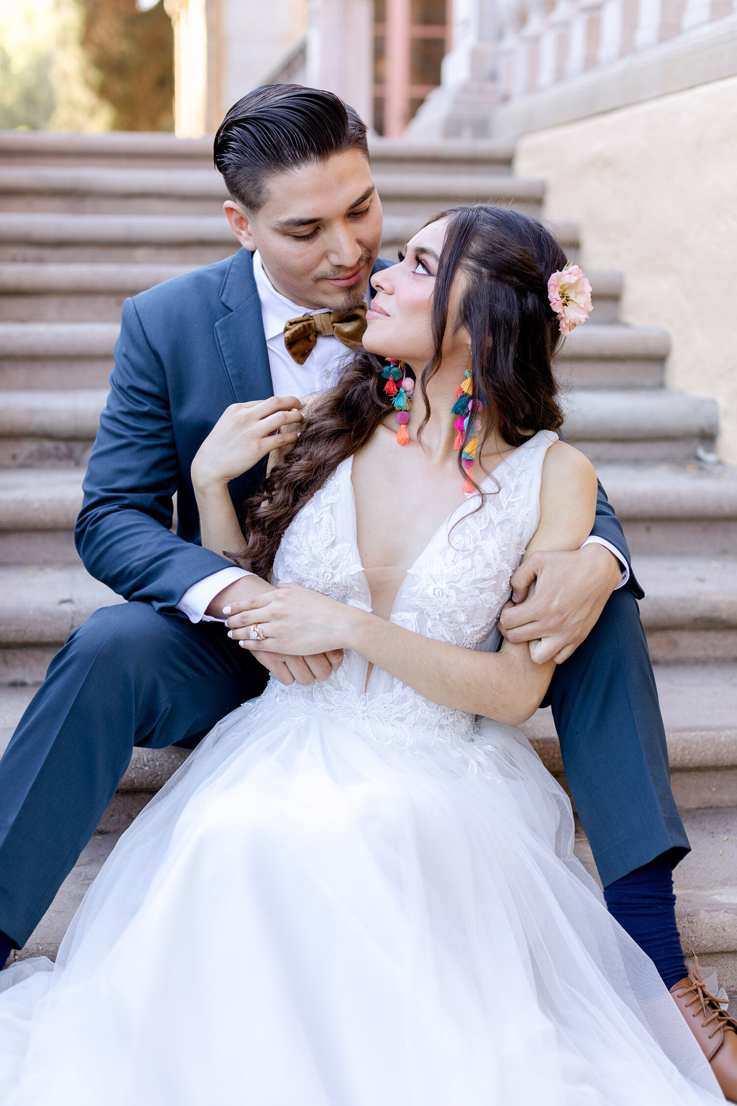 h & l lovely creations bespoke weddings southern california colourful 00018