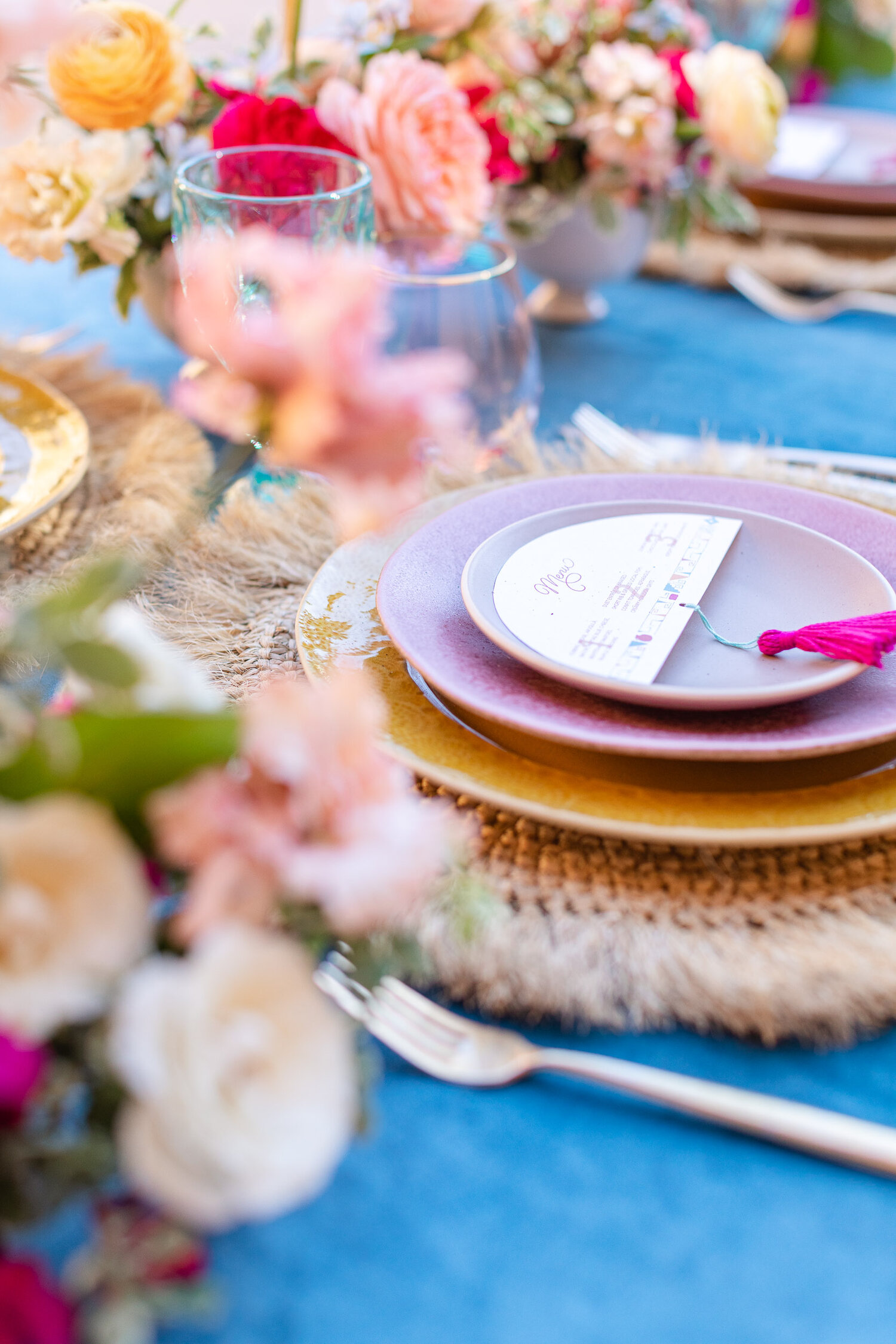 h & l lovely creations bespoke weddings southern california colourful 00019