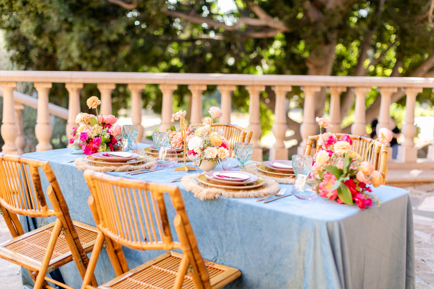 h & l lovely creations bespoke weddings southern california colourful 00020