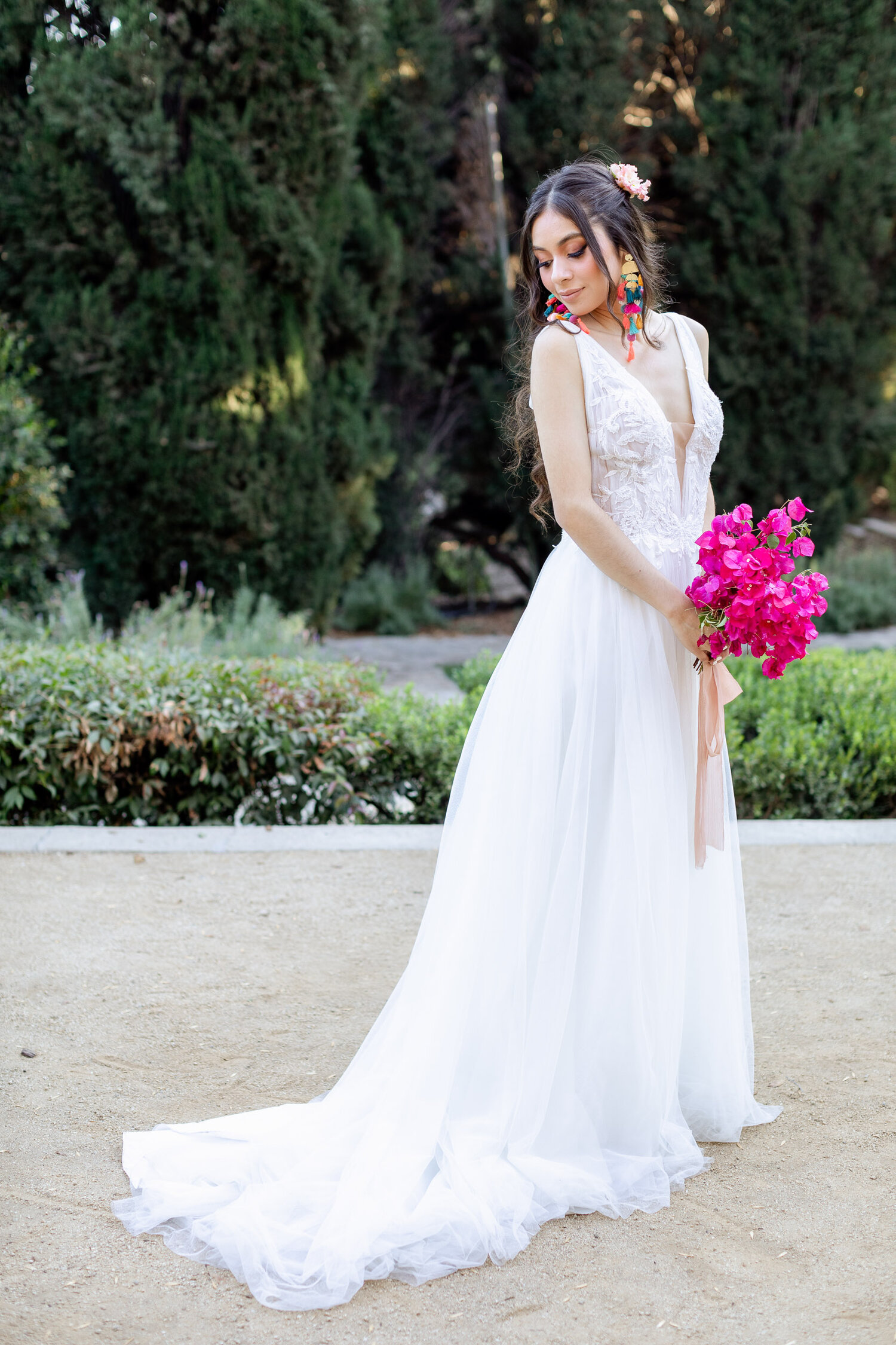 h & l lovely creations bespoke weddings southern california colourful 00022