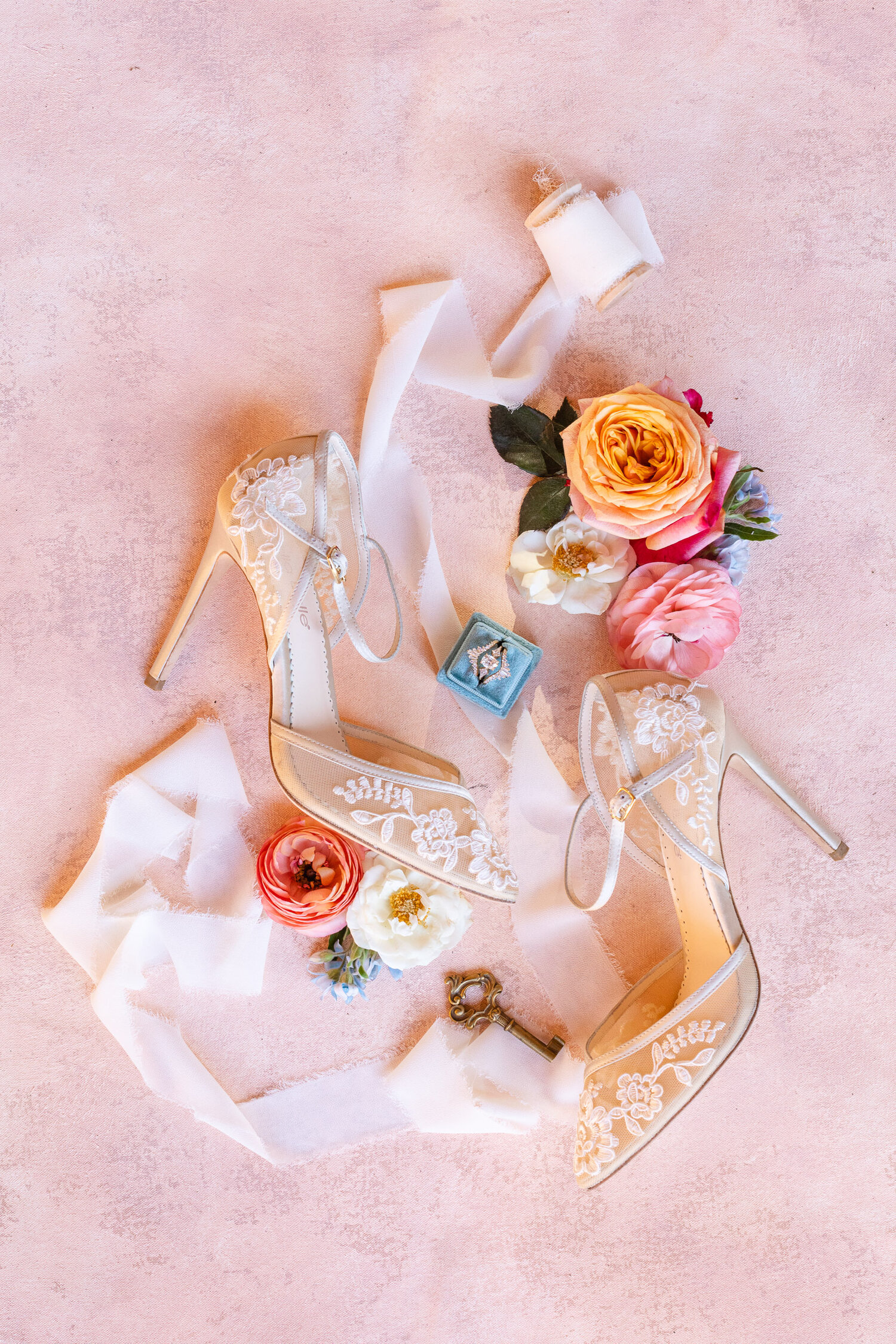 h & l lovely creations bespoke weddings southern california colourful 00024