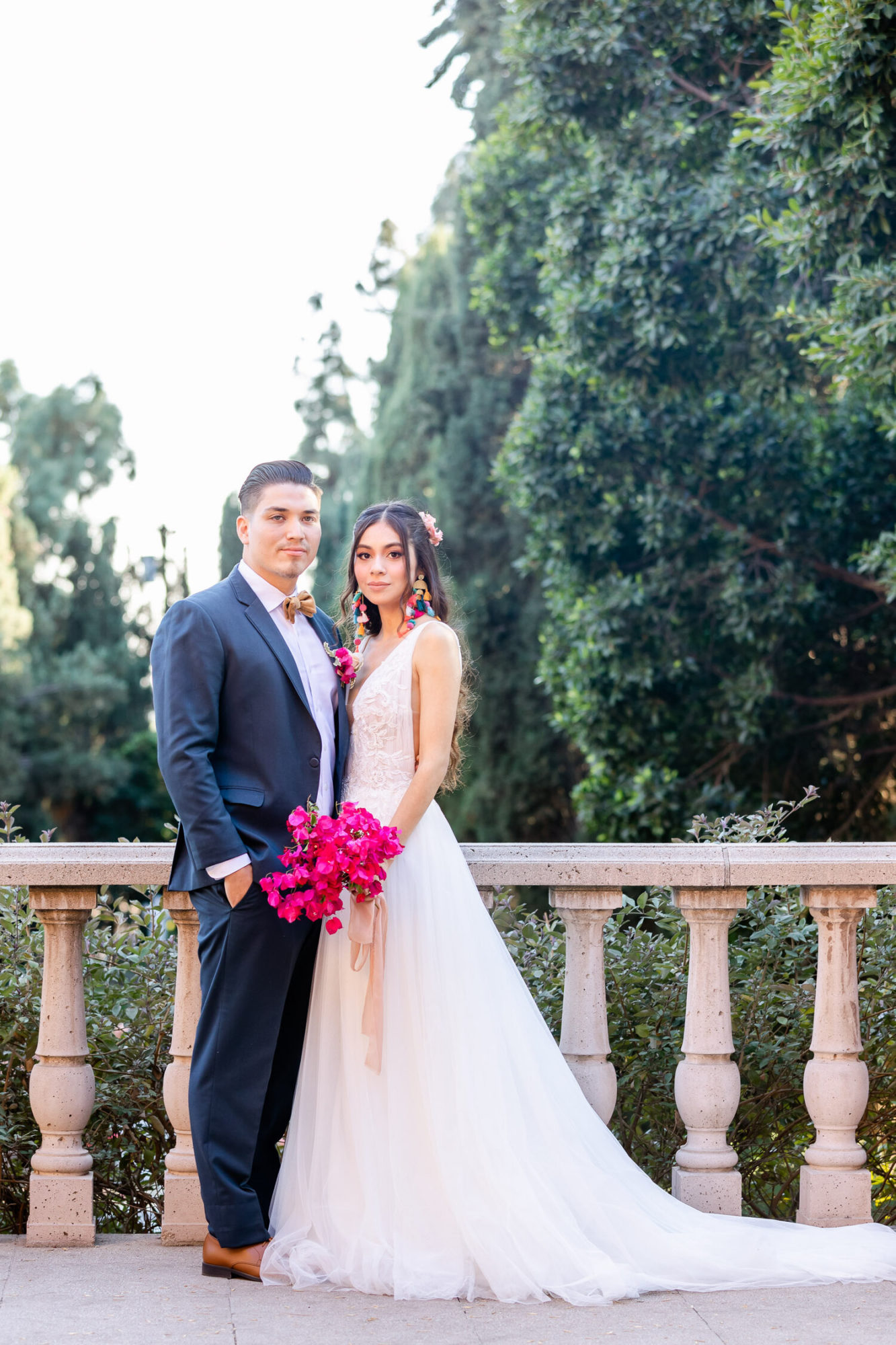 h & l lovely creations bespoke weddings southern california colourful 00026