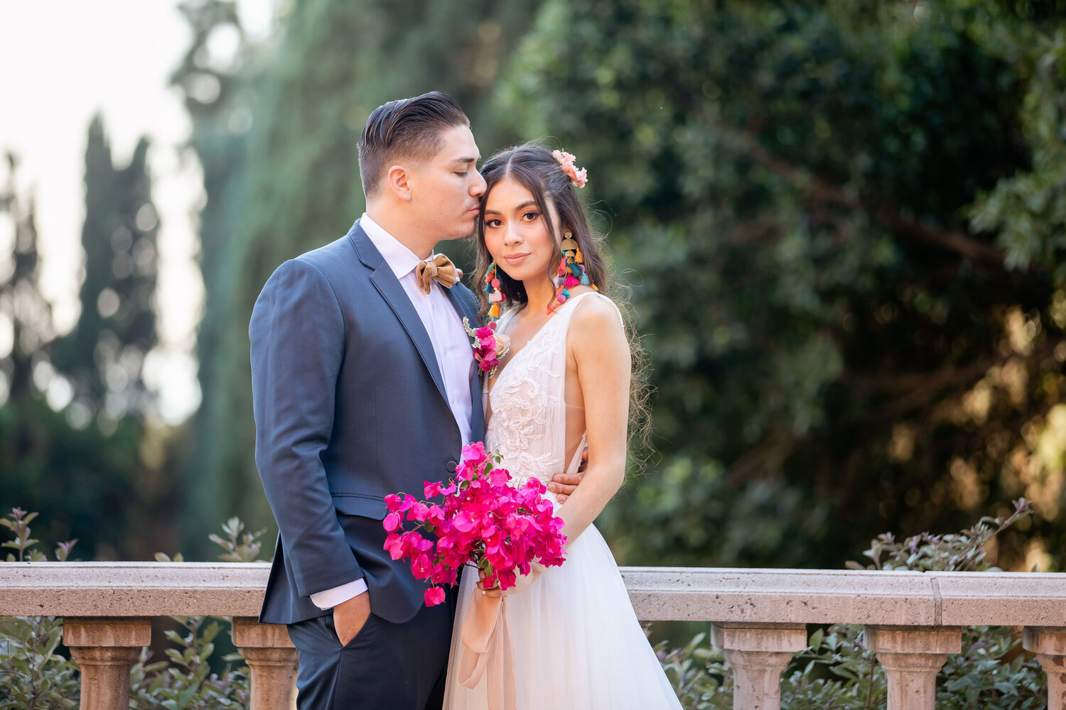 h & l lovely creations bespoke weddings southern california colourful 00028