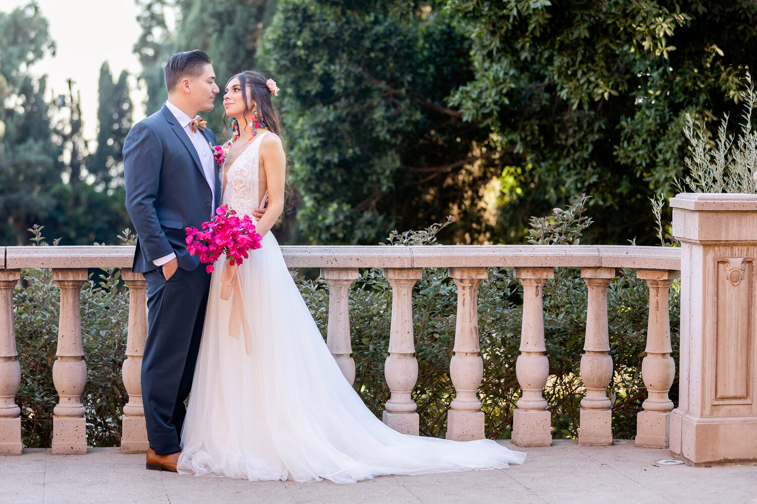 h & l lovely creations bespoke weddings southern california colourful 00029