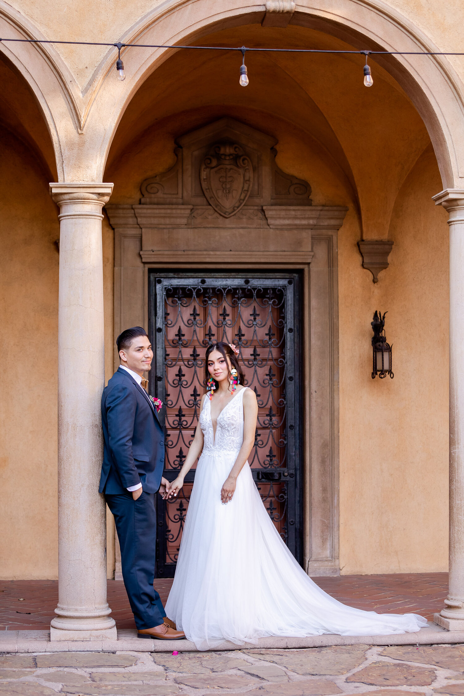 h & l lovely creations bespoke weddings southern california colourful 00031
