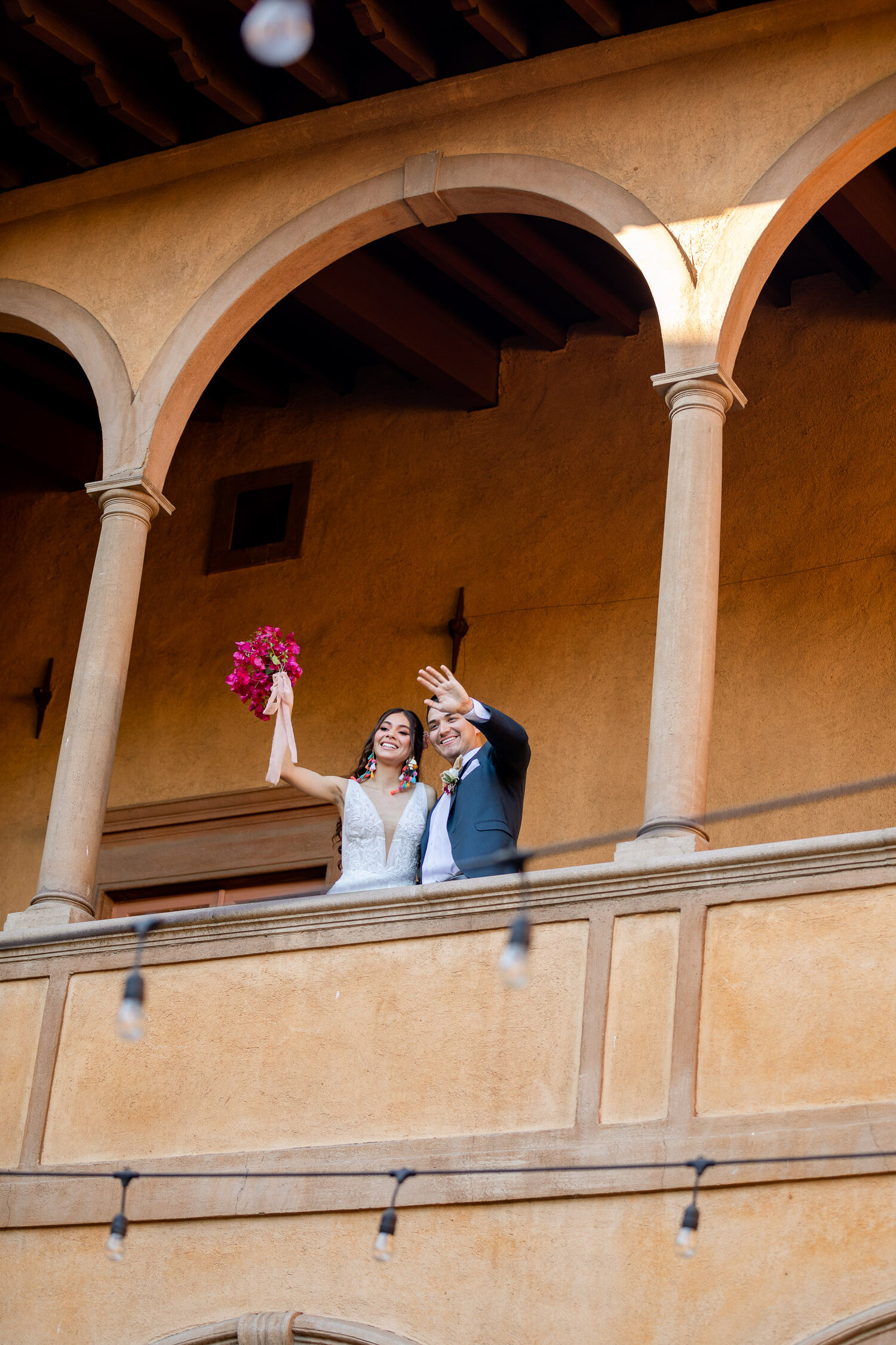 h & l lovely creations bespoke weddings southern california colourful 00035